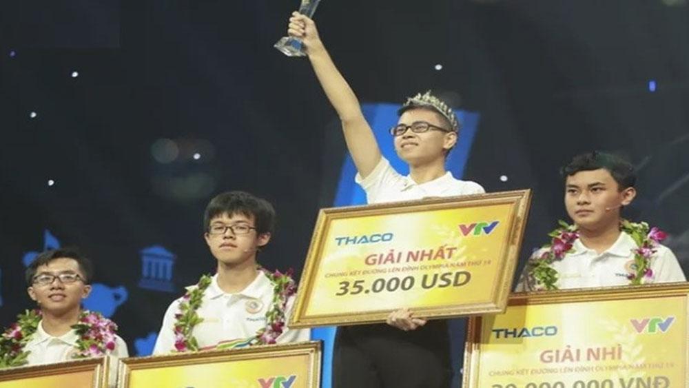 Trần Thế Trung, Trường THPT Chuyên Phan Bội Châu, Nghệ An,  vô địch, Đường lên đỉnh Olympia lần thứ 19