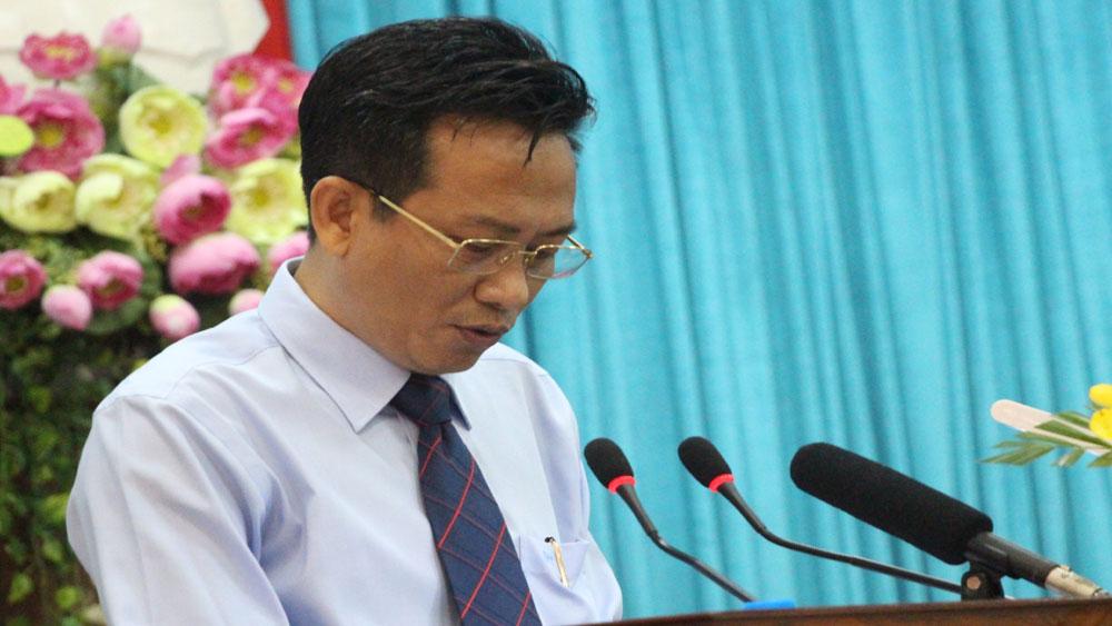 Kỷ luật, Giám đốc Sở Tài nguyên và Môi trường tỉnh An Giang, ông Trần Đặng Đức,