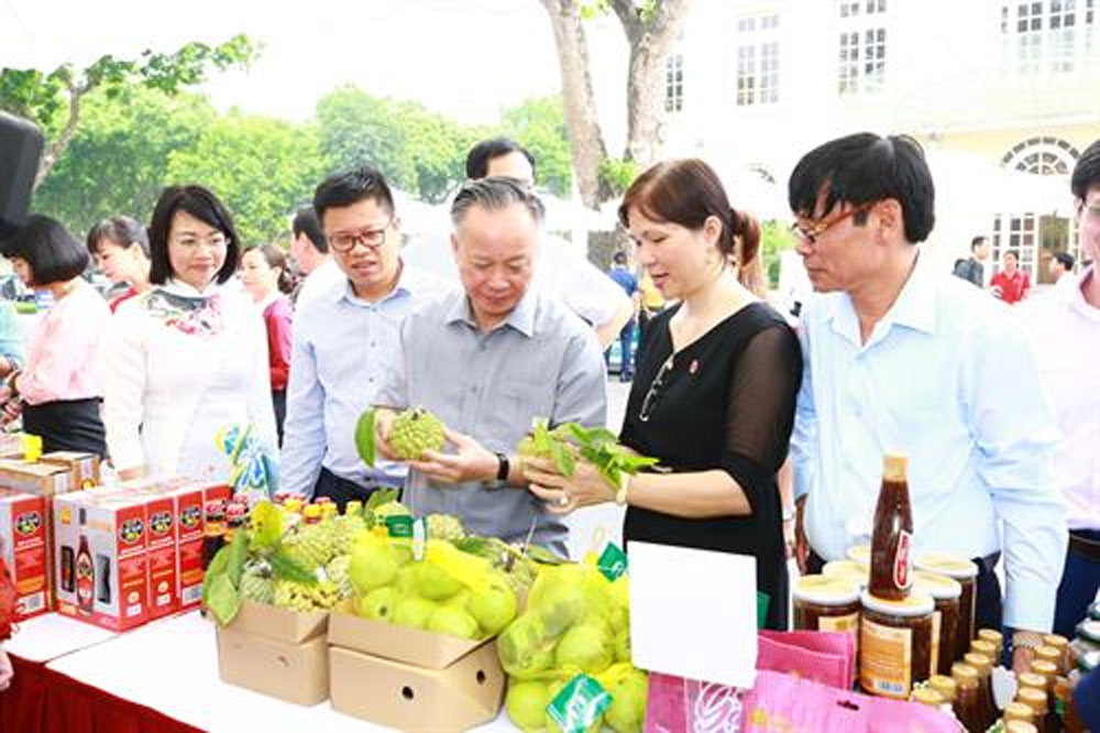 Hanoi, safe farm produce, Hanoi Promotion Agency, JICA Safe Crop project,  safe agricultural products, trade promotion activities