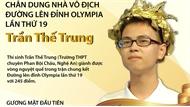 Chân dung nhà vô địch Đường lên đỉnh Olympia lần thứ 19 Trần Thế Trung
