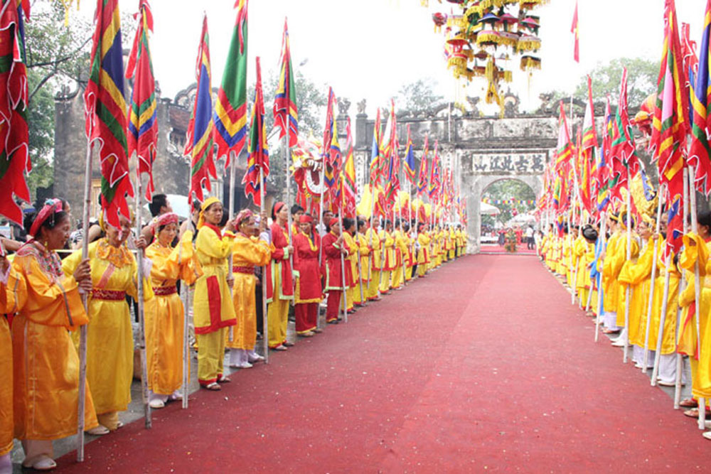 Con Son-Kiep Bac, Autumn Festival, Hai Duong province, Vietnam's history, traditional rituals, cultural activities, national intangible cultural heritages