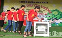 Trường THCS Tam Dị (Lục Nam): Ủng hộ học sinh Hoàng Văn Văn hơn 11 triệu đồng