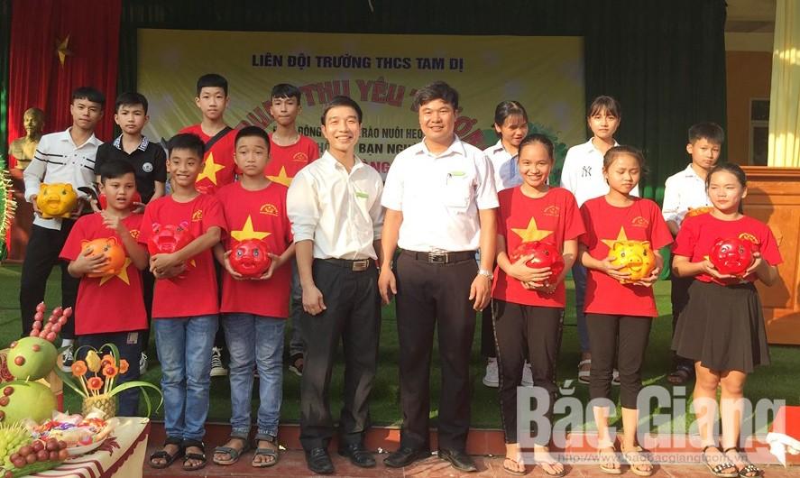 Trường THCS Tam Dị, Ủng hộ, Hoàng Văn Văn, hơn 11 triệu đồng