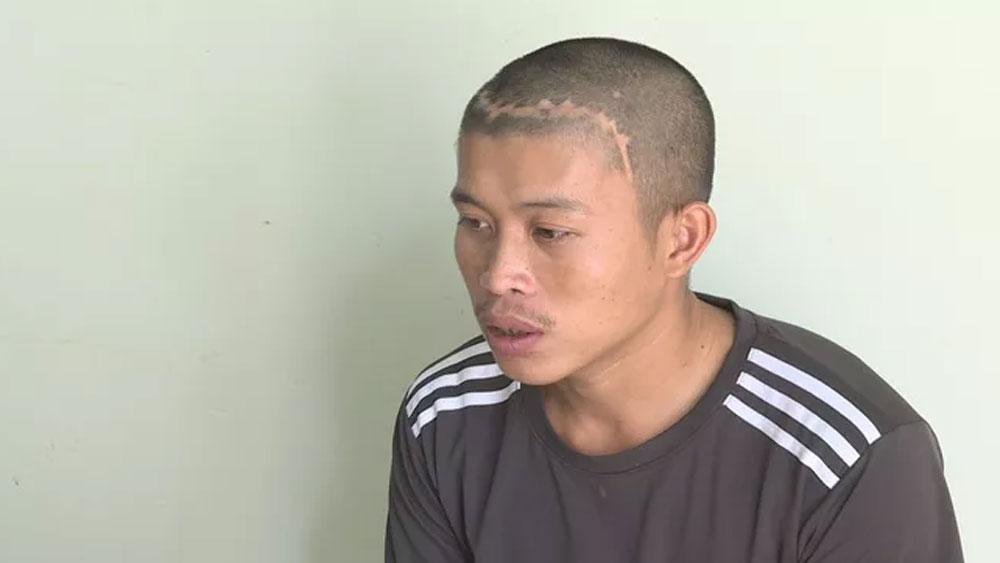 Bắt tên cướp, kéo lê, làm gãy tay nạn nhân trên đường, nghi phạm Tăng Văn Tuấn