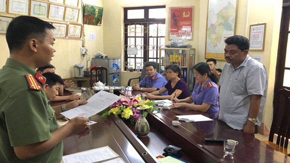 Sai phạm, Kỳ thi THPT quốc gia 2018, Hà Giang, khai trừ Đảng, nguyên cán bộ Sở Giáo dục và Đào tạo, Nguyễn Thanh Hoài, Vũ Trọng Lương.