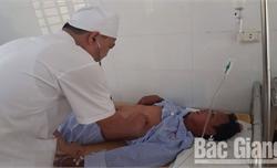 Bệnh Viện Quân y 110- Cơ sở 2: Cấp cứu thành công một người bị ong đốt