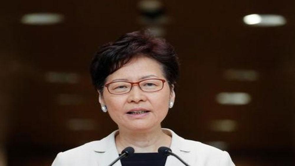 Lãnh đạo Hong Kong, Trung Quốc, đối thoại trực tiếp, người dân, Trưởng đặc khu Hong Kong Carrie Lam