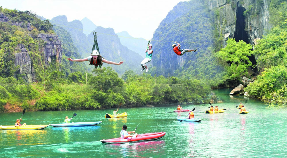 Quang Binh province, attractive destination, adventure and experience travelling, potentials and advantages