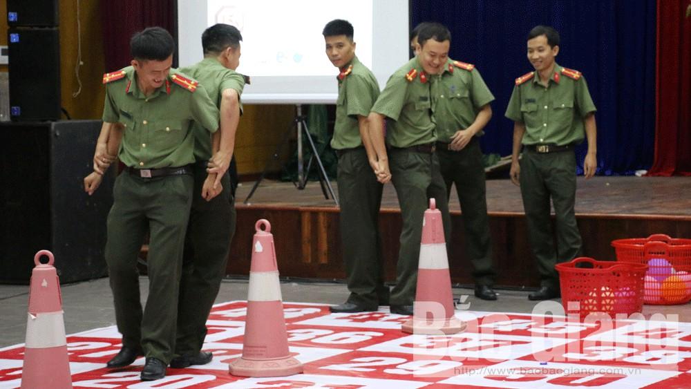 rung chuông vàng, Công an tỉnh Bắc Giang