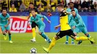 Barca thoát thua trên sân Dortmund