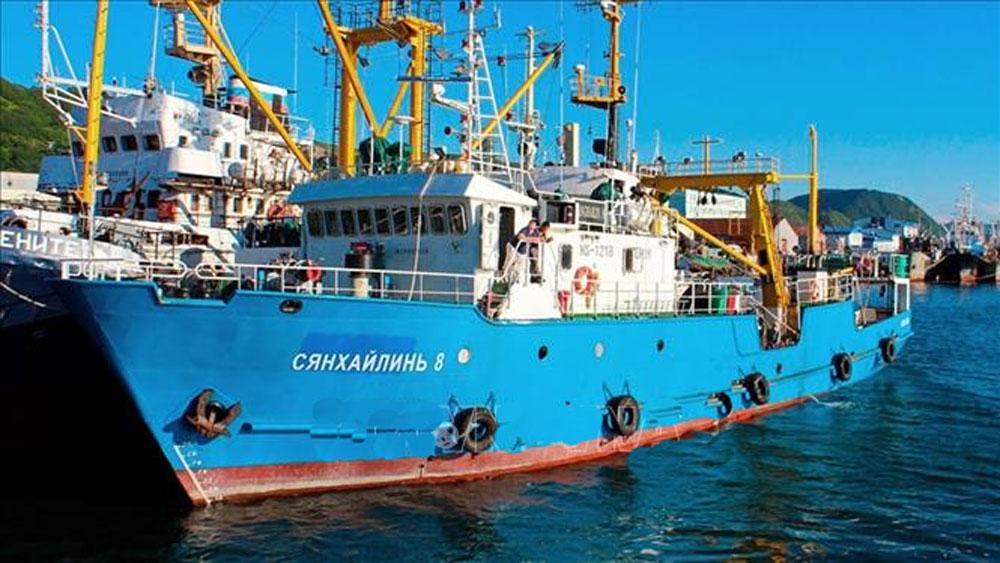 Nga, bắt giữ, 2 tàu Triều Tiên, vụ tấn công tàu tuần tra