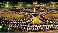 Tổng duyệt màn đại xòe tại Lễ hội Văn hóa - Du lịch Mường Lò 2019.