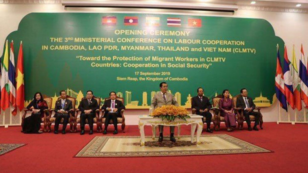 Regional conference, protection of migrant workers, ministerial conference, Vietnamese delegation, labour cooperation, social security programmes