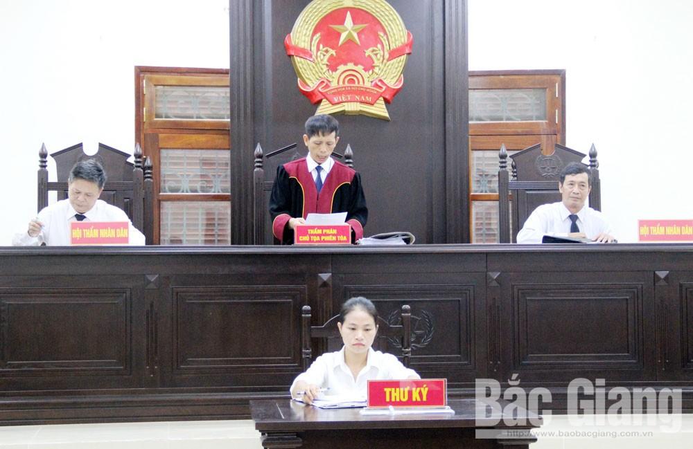 Bắc Giang, án hành chính, hòa giải, đối thoại, quyết định hành chính, đất đai