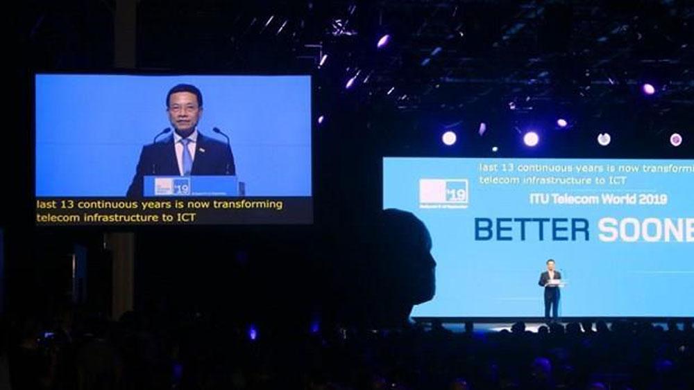 Vietnam, ITU Telecom World 2020, International Telecommunication Union, annual event, high-ranking officials, digital world