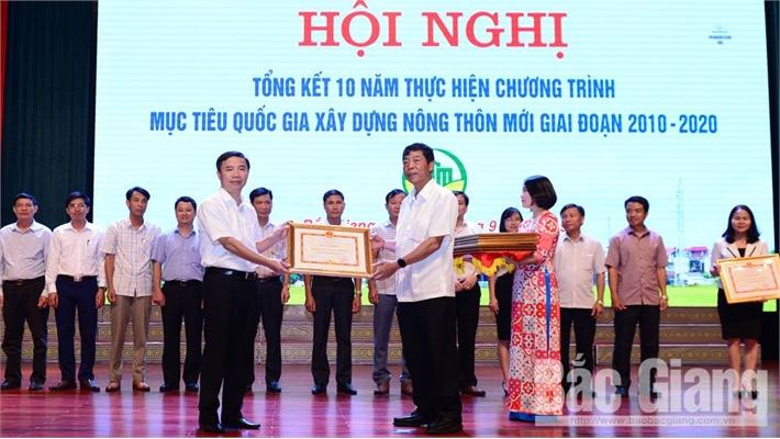 Bắc Giang hoàn thành sớm nhiều mục tiêu xây dựng nông thôn mới