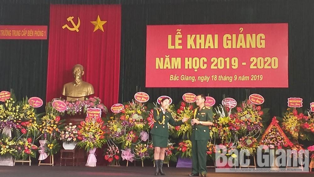 Trường Trung cấp Biên phòng, khai giảng, năm học 2019-2020, Thiếu tướng Lê Văn Thạo