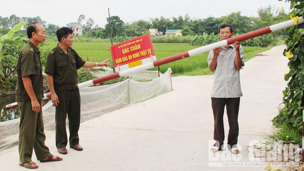 Bắc Giang,  phòng, chống tội phạm, an ninh trật tự, gác chắn