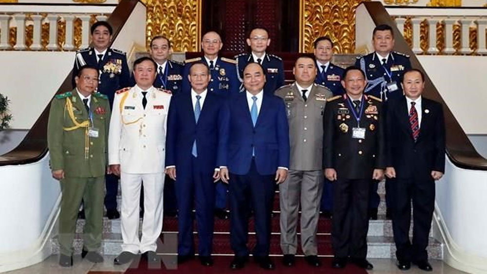 PM receives heads of delegations to ASEANAPOL 39