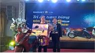 Bảo Việt nhân thọ Bắc Giang trao thưởng xe máy và chi trả quyền lợi  bảo hiểm cho khách hàng ở Lạng Giang, Hiệp Hòa, Tân Yên