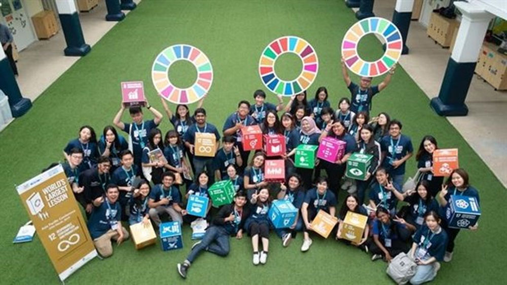 """""""World's Largest Lesson"""" on sustainability comes to Vietnam"""