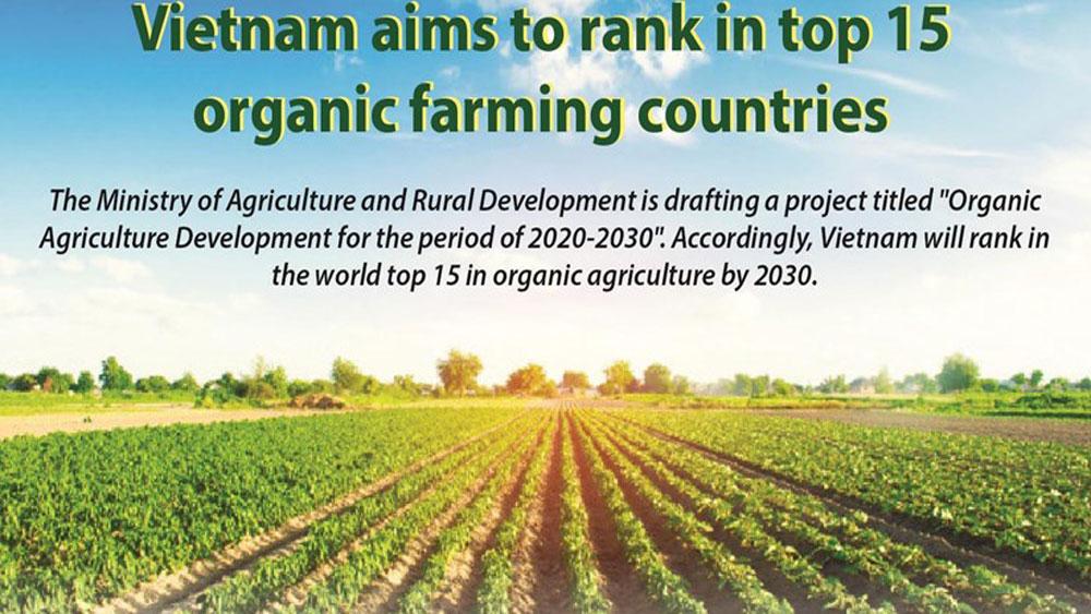 Vietnam aims to rank in top 15 organic farming countries