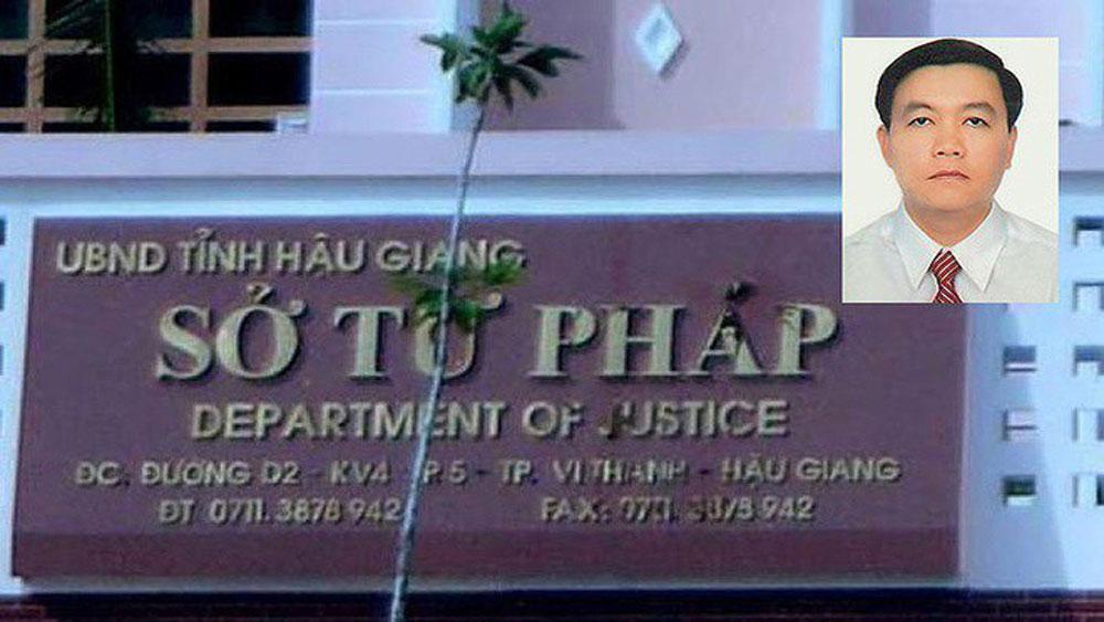 Hậu Giang, cảnh cáo nguyên Phó Giám đốc Sở Tư pháp, không nhận quyết định điều động công tác, Nguyễn Thành Nhơn,