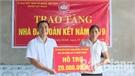 Huyện Lục Ngạn hoàn thành xây dựng 42 nhà đại đoàn kết cho hộ nghèo
