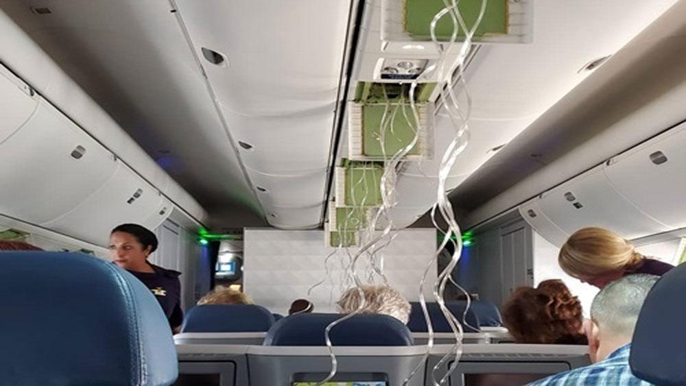 Máy bay chở khách Mỹ, mất độ cao hơn 9.000 m, Delta Airlines