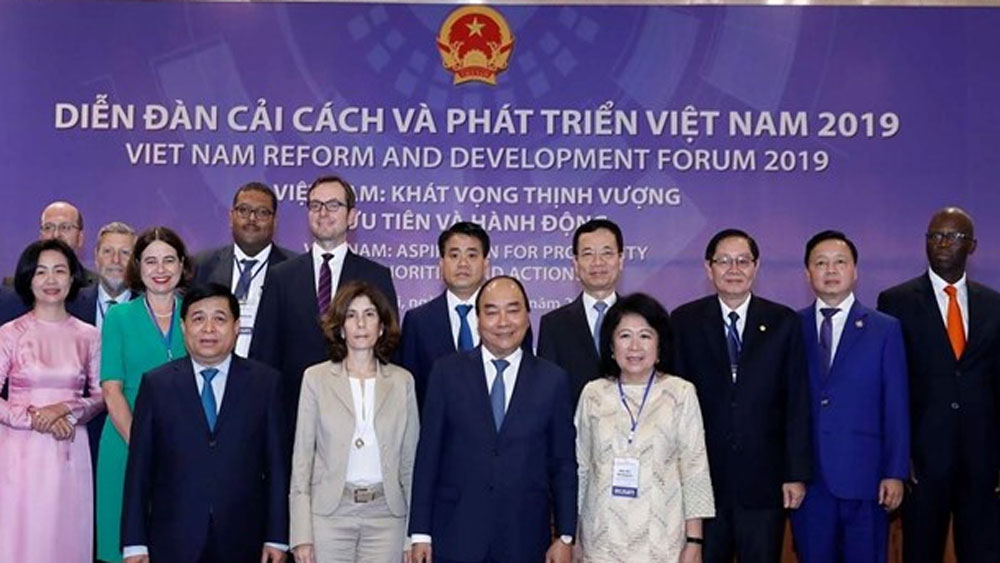 Prime Minister, Vietnam, reform forum 2019, global integration, international community, sound development policies,  socio-economic development