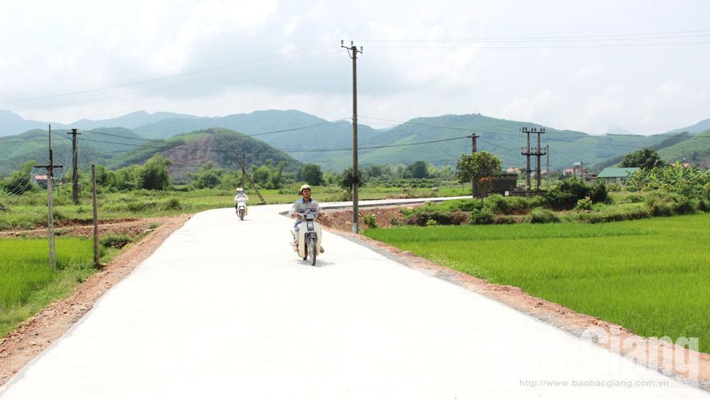 Sơn Động, Bắc Giang, chương trình mục tiêu quốc gia, giảm nghèo bền vững, đầu tư, hạ tầng giao thông, sản xuất, đời sống