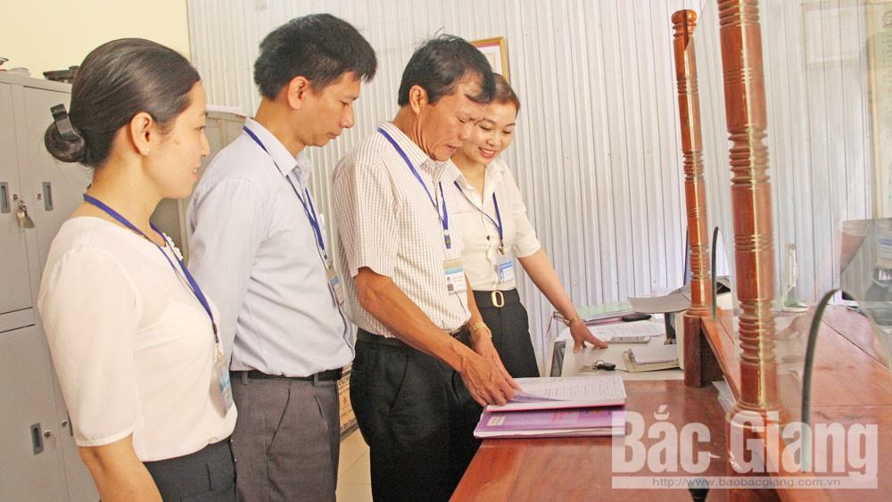 Bắc Giang, cải cách hành chính, chất lượng phục vụ, tổ chức, công dân