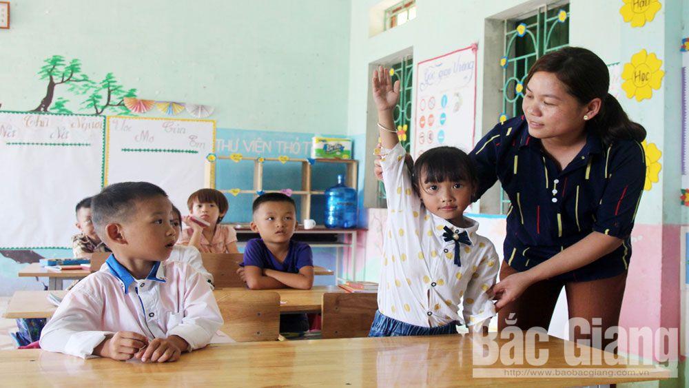 Sa Lý, Lục Ngạn, giáo viên, học sinh, Bắc Giang, thầy trò