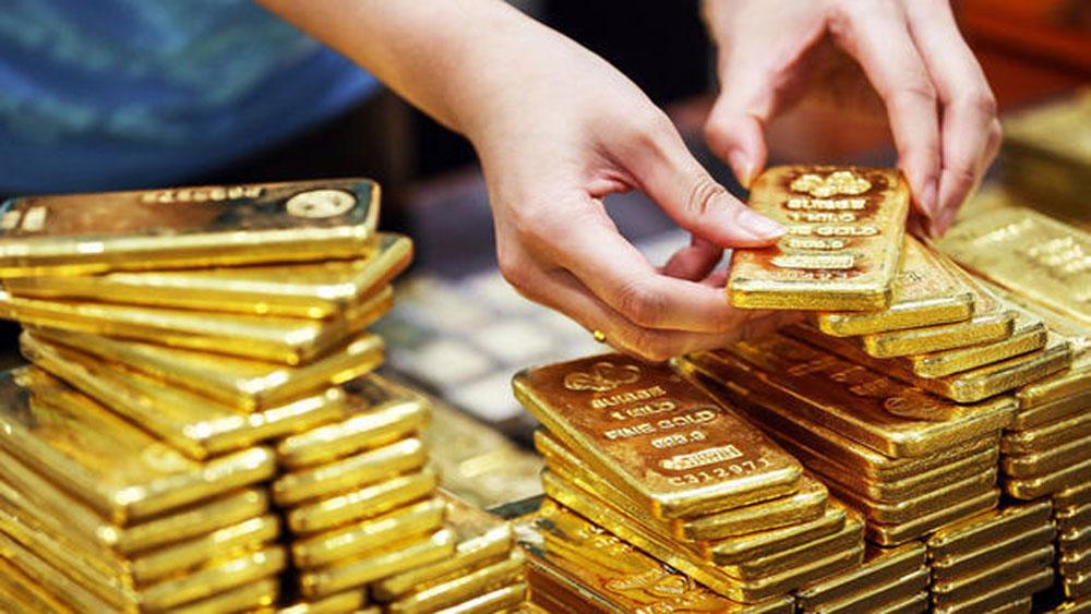 Vàng tăng giá mạnh, trở lại, vượt mốc 42 triệu đồng/lượng,