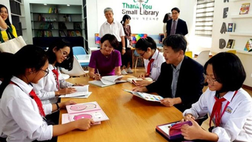 RoK-funded project helps build more libraries in Vietnam