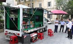 Trao tặng 31 xe ô tô thư viện lưu động cho các thư viện tỉnh, thành phố