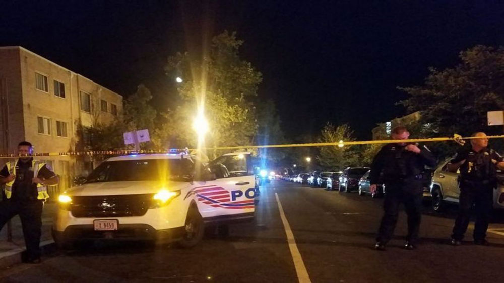 Xả súng tại Washington, 6 người bị thương,