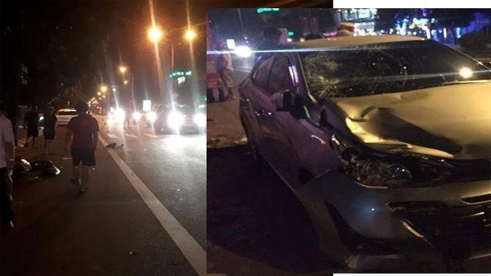 Làm rõ nghi vấn Chủ nhiệm Ủy ban Kiểm tra ở Hà Tĩnh lái xe gây tai nạn