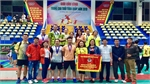 Bac Giang bags 8 medals at national badminton championship for middle-aged and old players