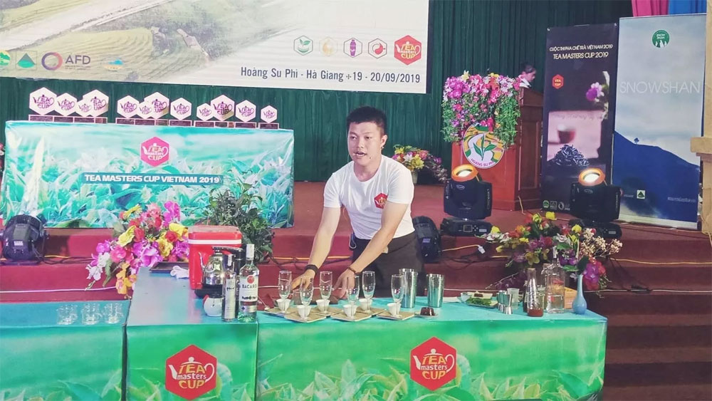 2019 Tea Masters Cup Vietnam, Hoang Su Phi District, Vietnam Tea Association, terraced paddy fields, cultural and tourism week, Tea Masters Cup International