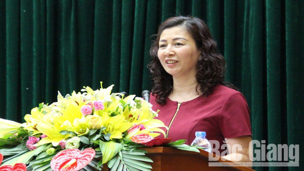 Bắc Giang; cập nhật kiến thức; cán bộ diện BTV tỉnh ủy; học viên