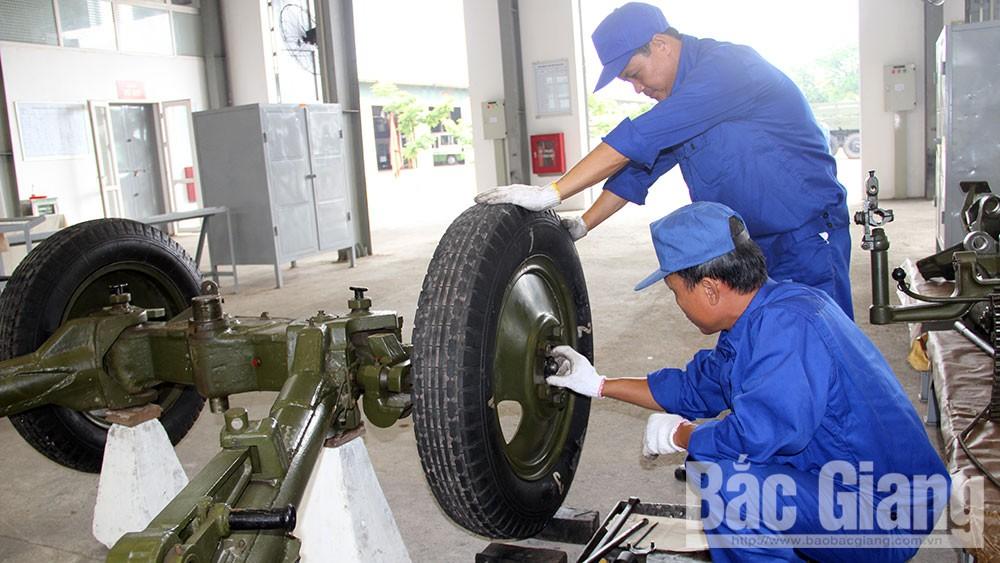 Quân đoàn 2, Hội thi cơ sở sửa chữa, vũ khí trang bị kỹ thuật