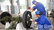 Bế mạc Hội thi cơ sở sửa chữa vũ khí trang bị kỹ thuật cấp chiến thuật Quân đoàn 2