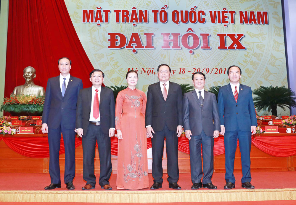 Đại hội IX MTTQ Việt Nam, Bế mạc, Đại hội đại biểu toàn quốc Mặt trận Tổ quốc Việt Nam lần thứ IX