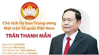 Chủ tịch Ủy ban Trung ương Mặt trận Tổ quốc Việt Nam Trần Thanh Mẫn