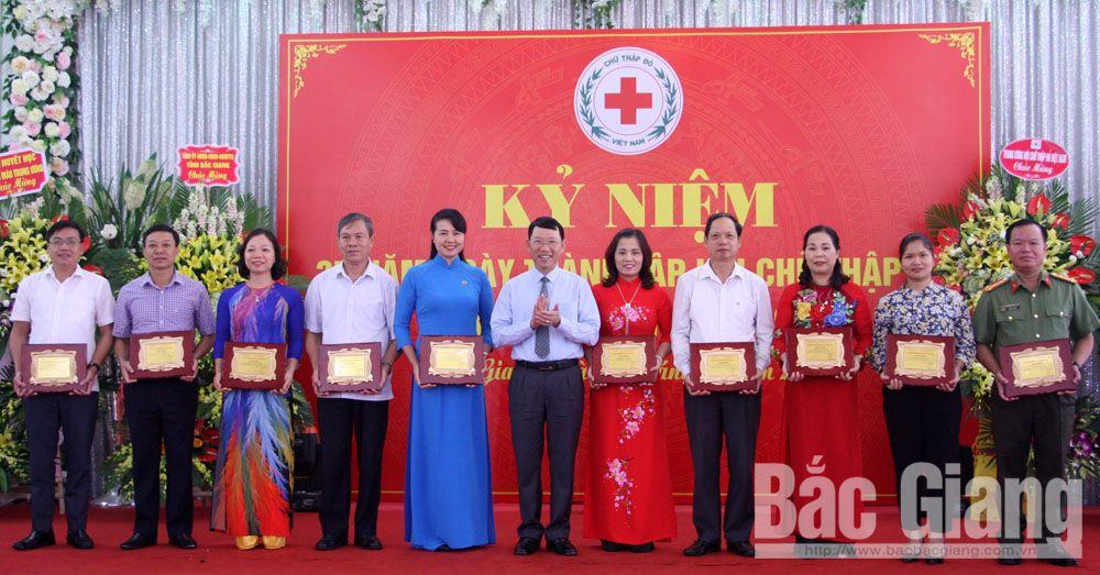 Hội Chữ thập đỏ, kỷ niệm, 35 năm thành lập, hiến máu nhân đạo
