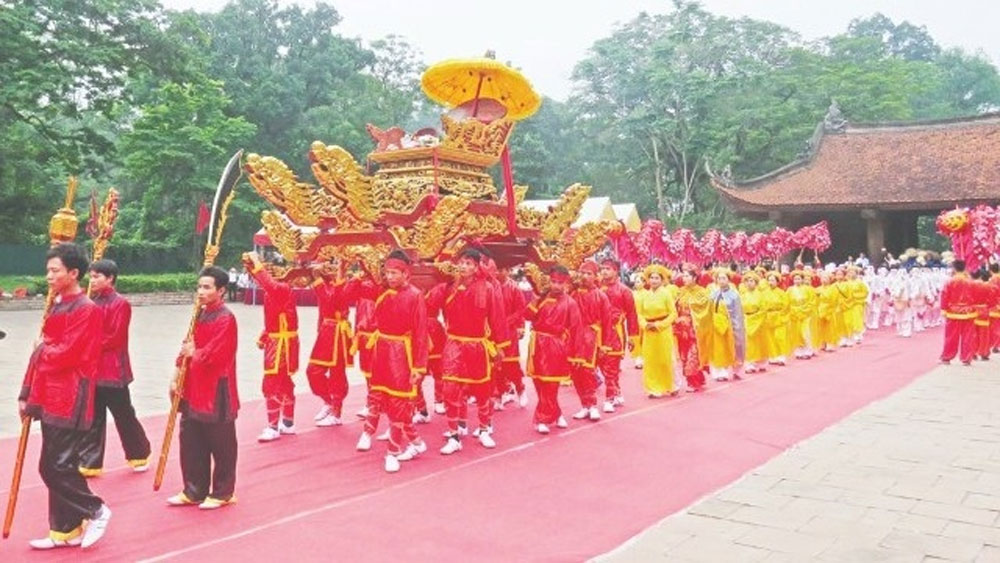 Lam Kinh Festival, national hero, Le Loi, Lam Kinh National Special Relic Site, 601st anniversary, great contributions, palanquin procession, worshipping ceremonials