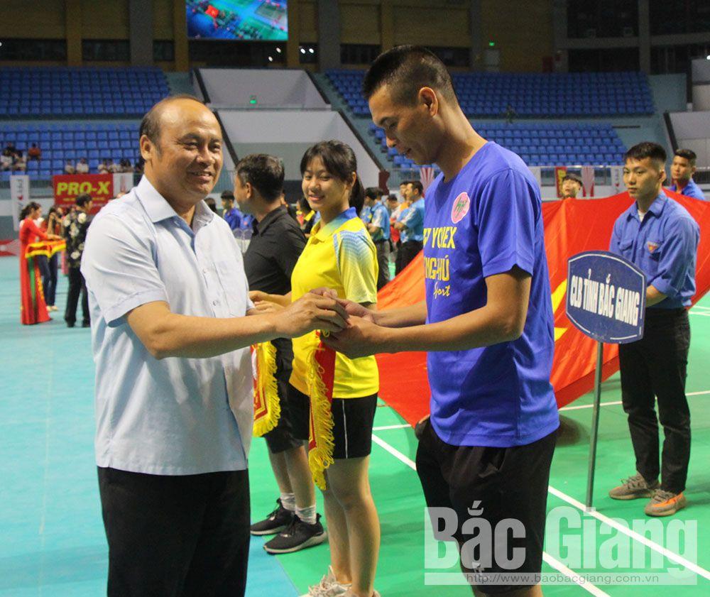 Bắc Giang, giải cầu lông các câu lạc bộ mạnh toàn quốc, cầu lông basao, liên đoàn cầu lông, nhà thi đấu tỉnh bắc giang