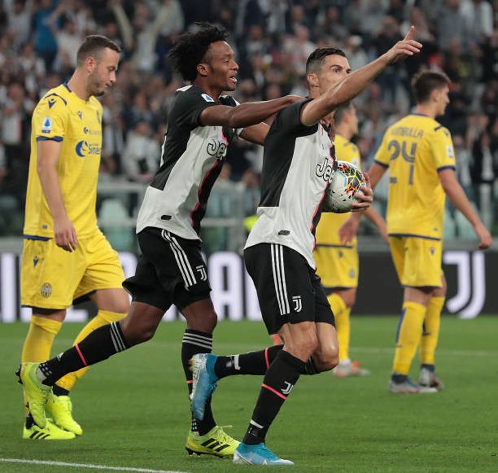 Juventus 2-1 Verona, Cristiano Ronaldo, video Juventus 2-1 Verona, tường thuật Juventus 2-1 Verona, highlight Juventus 2-1 Verona