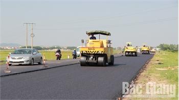60 tỷ đồng thảm nhựa mặt đường tỉnh 293